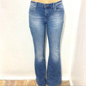 Calvin Klein high waist flare jeans